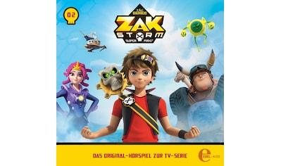 Musik - CD (2)Original Hörspiel z.TV - Serie - Hexe Über Bord / Zak Storm, (1 CD) kaufen