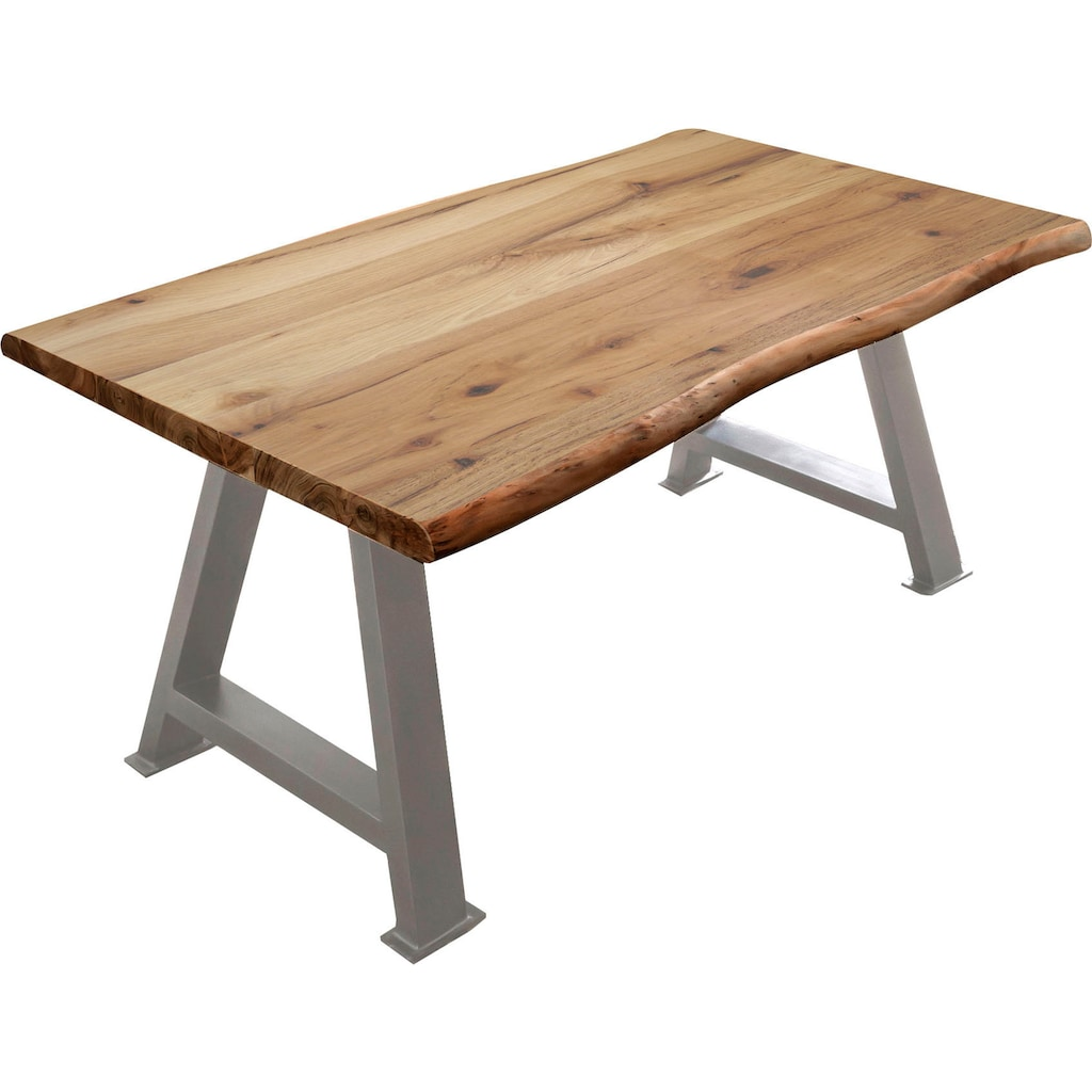 SIT Esstisch »Tops&Tables«, mit Baumkante