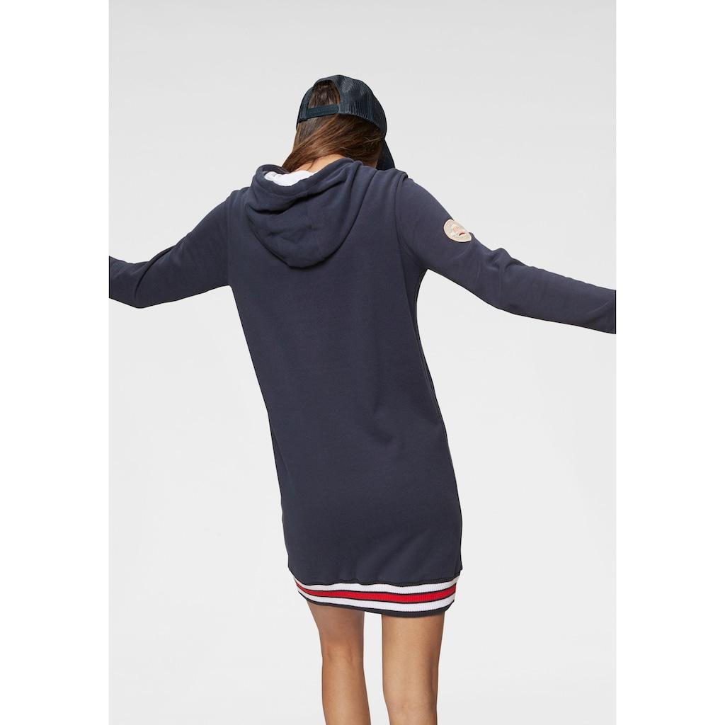 KangaROOS Sweatkleid, mit sportlichen Kontrastdetails