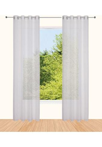 Vorhang, »visby«, andas, Ösen 1 Stück kaufen