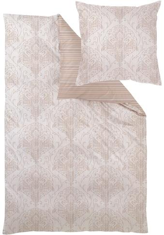 Curt Bauer Wendebettwäsche »Kamika«, mit Mosaik-Muster kaufen