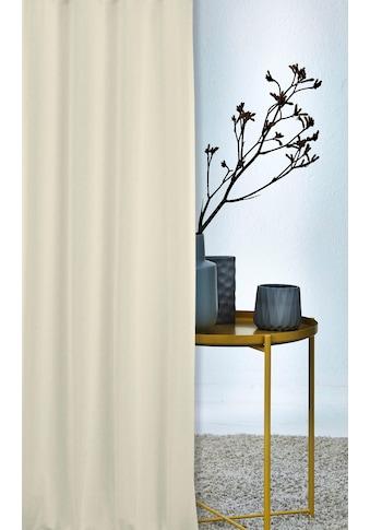APELT Vorhang »ALASKA«, HxB: 245x140, Alaska, Ösenschal mit Metallösen kaufen