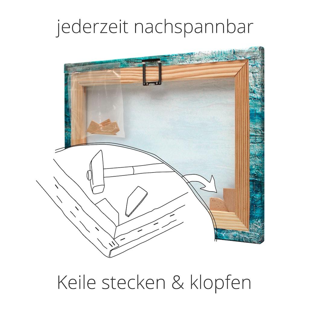 Artland Wandbild »Fenster zum Paradies«, Fensterblick, (1 St.), in vielen Größen & Produktarten - Alubild / Outdoorbild für den Außenbereich, Leinwandbild, Poster, Wandaufkleber / Wandtattoo auch für Badezimmer geeignet