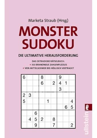 Buch »Monster-Sudoku / Marketa Straub« kaufen