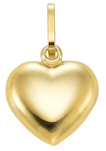 Firetti Kettenanhänger »glänzendes Herz, massiv« kaufen