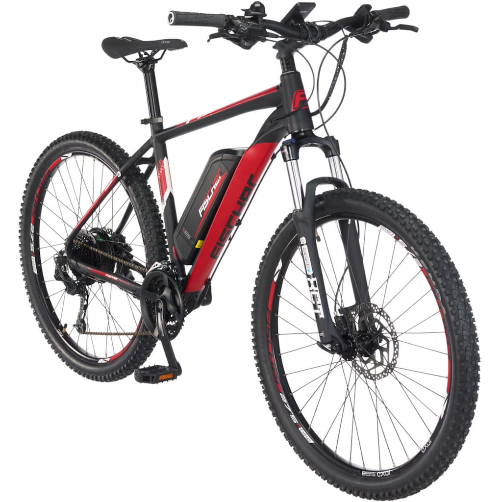 FISCHER Fahrräder E-Bike »EM 1726.1«, 24 Gang, Shimano, Deore, Heckmotor 250 W