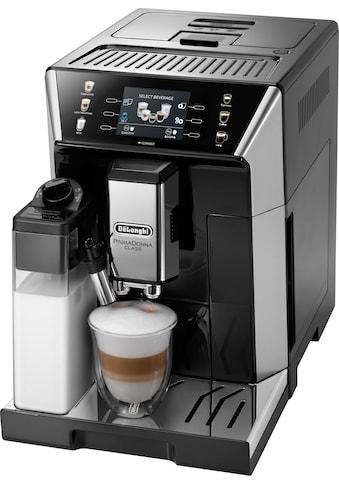 De'Longhi Kaffeevollautomat PrimaDonna Class ECAM 550.65.SB, schwarz, 2l Tank, Kegelmahlwerk kaufen