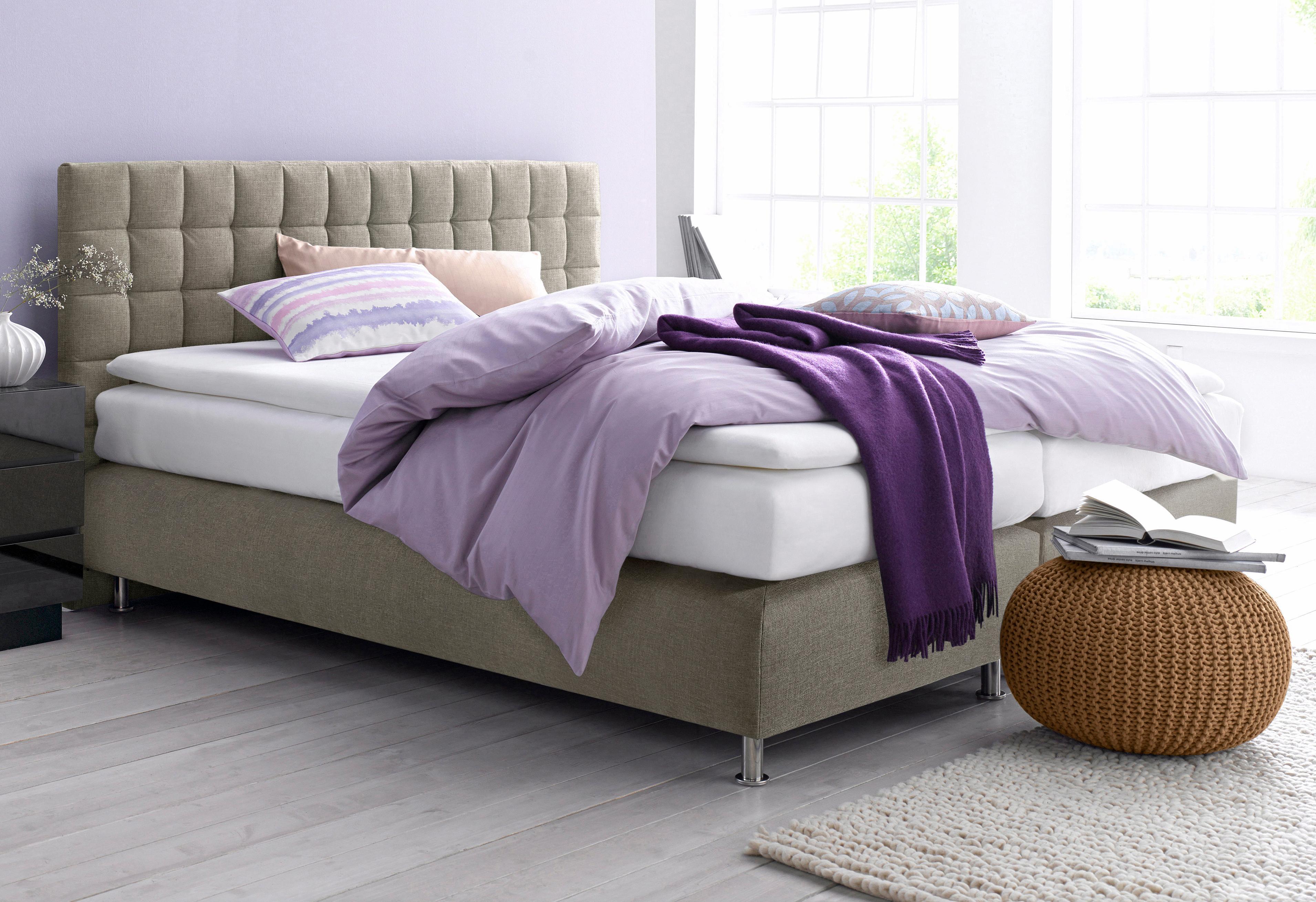 westfalia schlafkomfort boxspringbett bequem auf rechnung kaufen. Black Bedroom Furniture Sets. Home Design Ideas