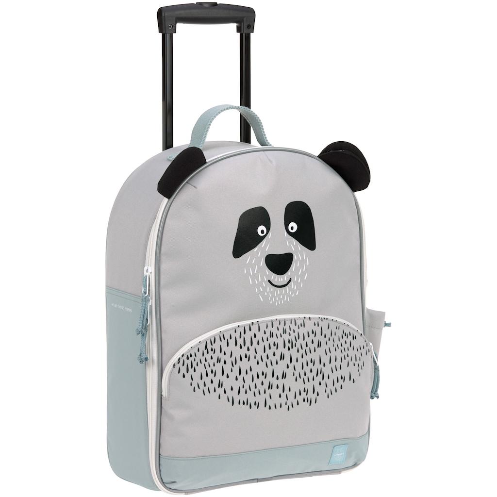 LÄSSIG Kinderkoffer »About Friends, Panda Pau«, 2 Rollen, PETA-approved vegan