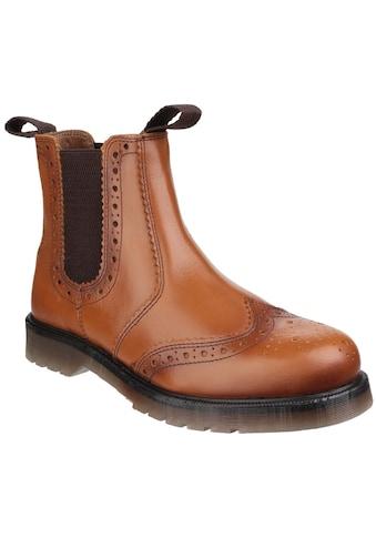 Amblers Safety Stiefelette »Herren Stiefel Dalby mit Flügelkappe und Anziehlaschen« kaufen