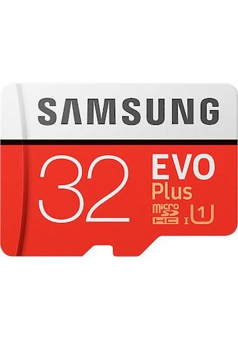 Samsung Speicherkarte »EVO Plus 2017 microSD«, ( UHS Class 1 95 MB/s Lesegeschwindigkeit) kaufen