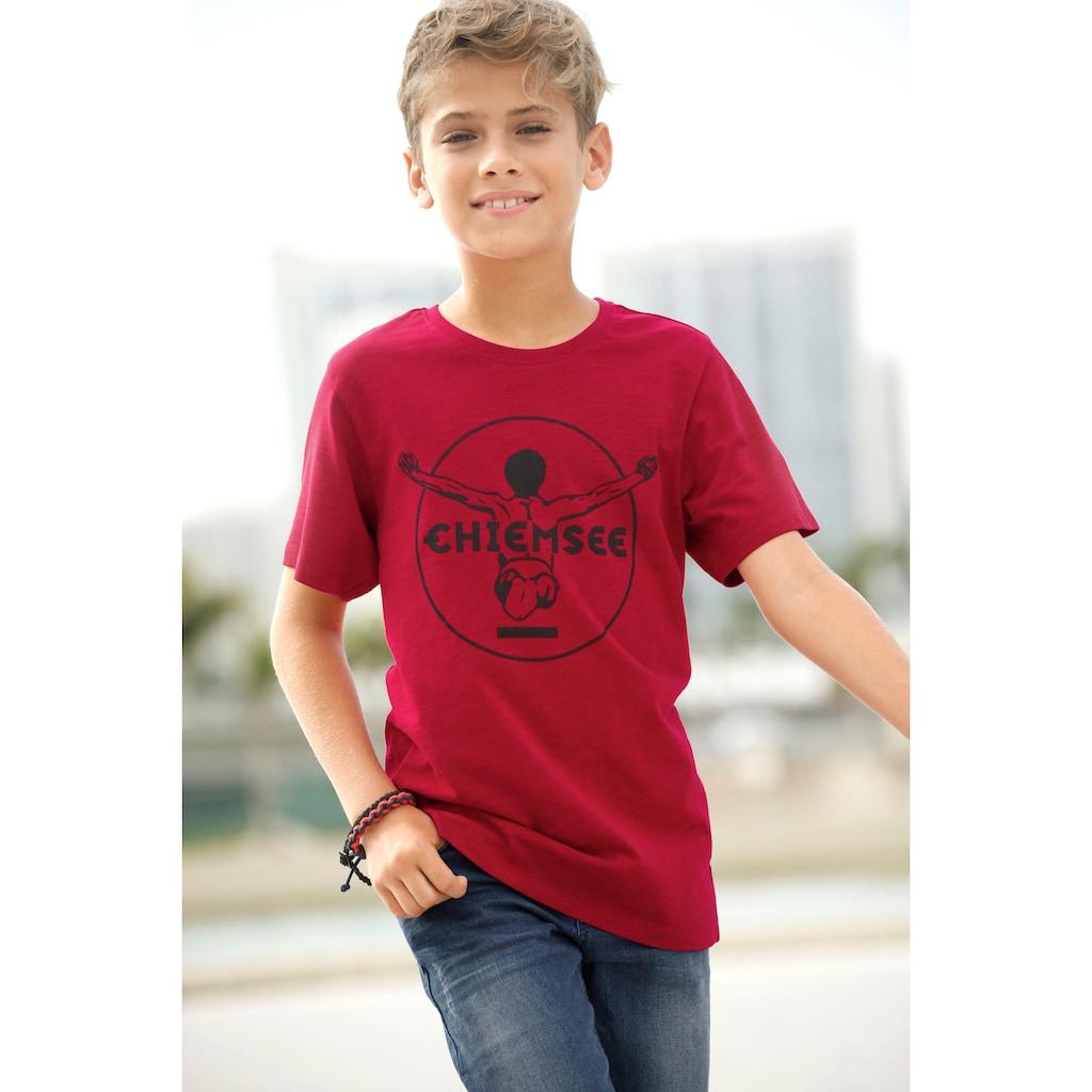 Chiemsee T-Shirt, mit dunklem Druck