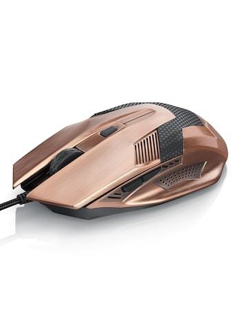 CSL USB Gaming Maus im Copper-Look kaufen