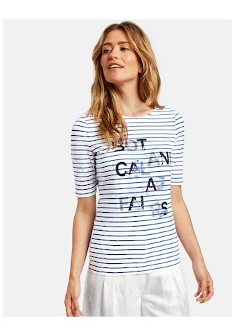GERRY WEBER T - Shirt 3/4 Arm »Shirt mit platziertem Print« kaufen