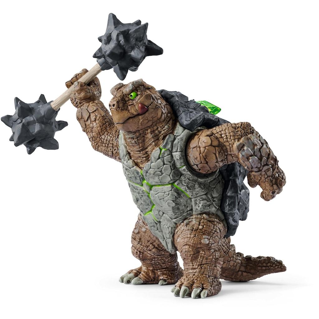 Schleich® Spielfigur »Eldrador Creatures, Panzerkröte mit Waffe (42496)«