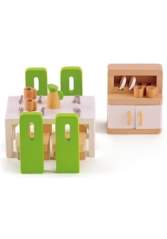 Hape Puppenhausmöbel »Esszimmer«, (Set, 23 tlg.) kaufen