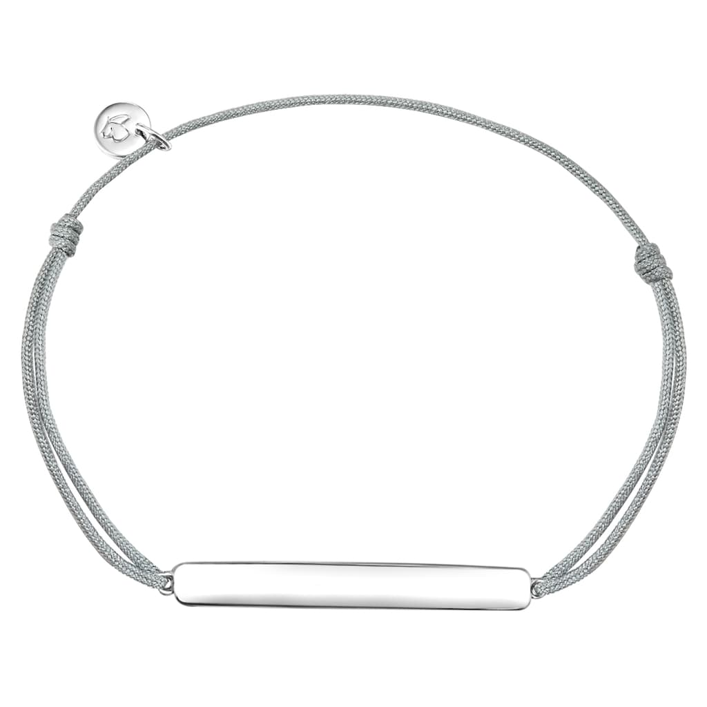 Glanzstücke München ID Armband »G902«, (1 tlg.), in Sterling Silber