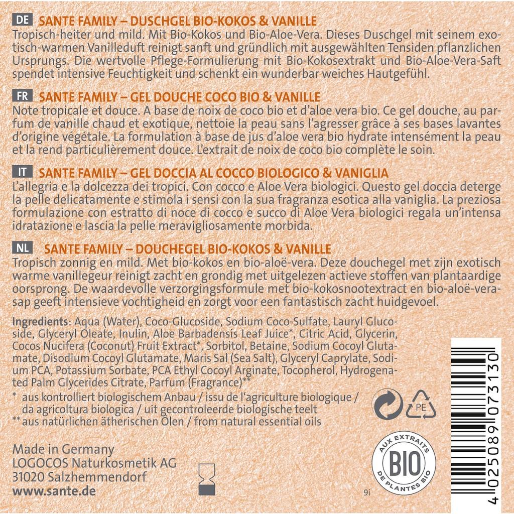 SANTE Duschgel »Bio-Kokos & Vanille«