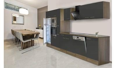 RESPEKTA Küchenzeile »York«, mit E-Geräten, Breite 370 cm kaufen