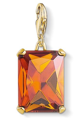 THOMAS SABO Charm - Einhänger »Großer Stein Orange, 1840 - 472 - 8« kaufen