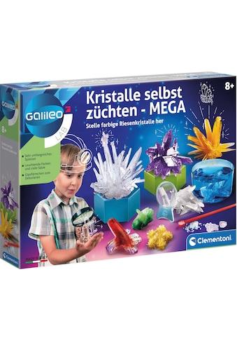 Clementoni® Experimentierkasten »Galileo Kristalle selbst züchten Mega«, Made in Europe kaufen