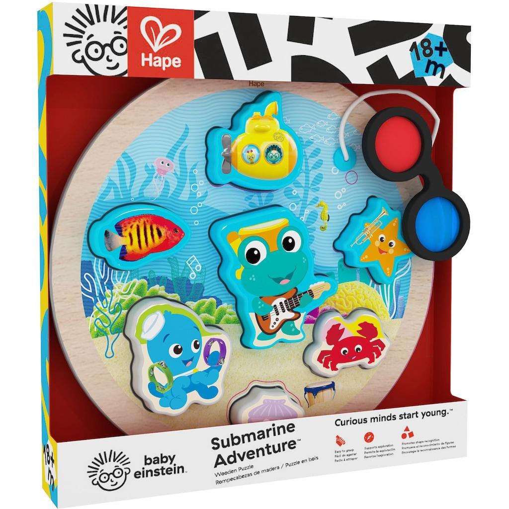 Baby Einstein Steckpuzzle »Baby Einstein, Erlebnis-Puzzle Unterwasserwelt«, aus Holz