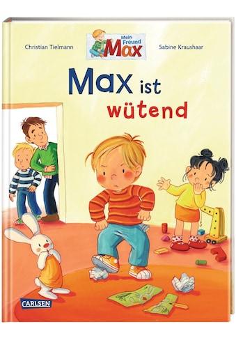 Buch »Max-Bilderbücher: Max ist wütend / Christian Tielmann, Sabine Kraushaar« kaufen