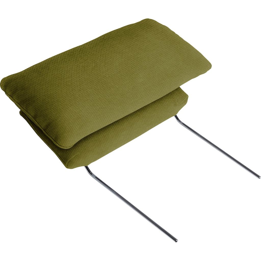 ADA premium Ecksofa »Messina large«, Wahlweise mit Bett-/Vorzieh- und Stauraumfunktion in zwei Tiefen