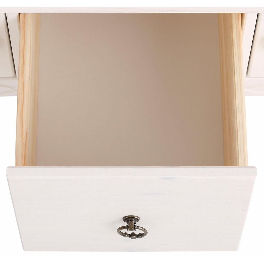 Home affaire Couchtisch »Indra«, mit 2 Holztüren und 1 Schublade und in 3 Farben