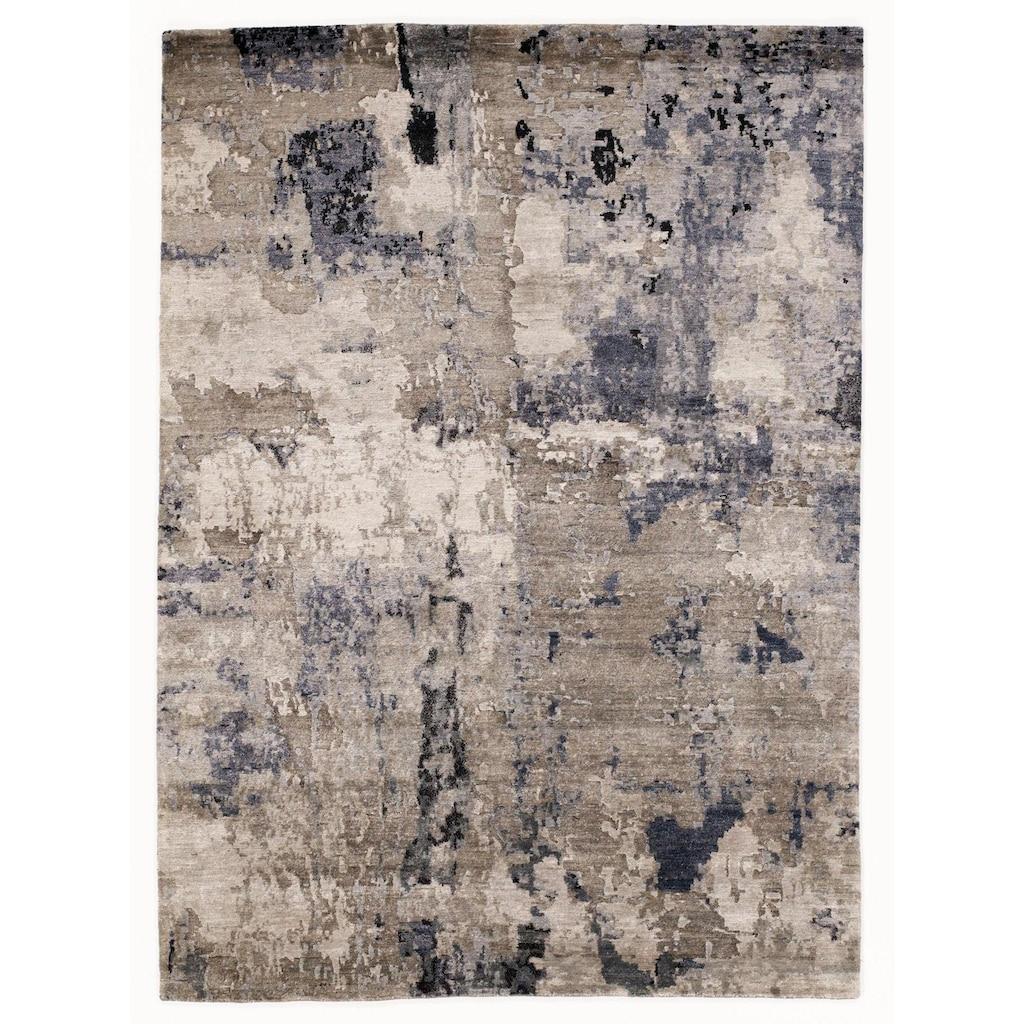 OCI DIE TEPPICHMARKE Teppich »Signature Earth«, rechteckig, 4 mm Höhe, handgeknüpft, Wohnzimmer