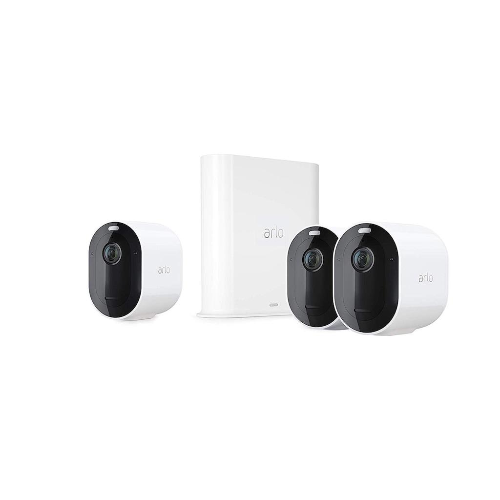 ARLO Pro 3 Sicherheitssystem mit 3 Kameras