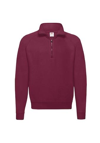 Fruit of the Loom Stehkragenpullover »Sweatshirt / Pullover mit Reißverschluss« kaufen
