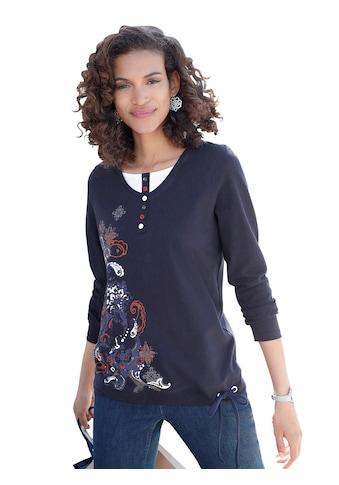 Shirt im beliebten 2 - in - 1 - Stil kaufen
