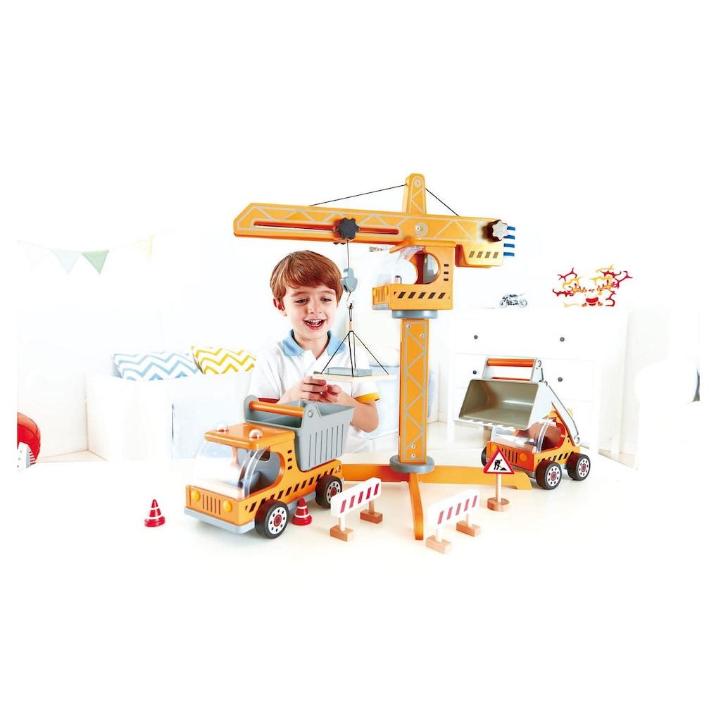 Hape Spielzeug-Kran »Großer Baukran«, aus Holz