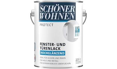 SCHÖNER WOHNEN-Kollektion Lack »Protect Fenster- und Türenlack«, hochglänzend, 2500... kaufen