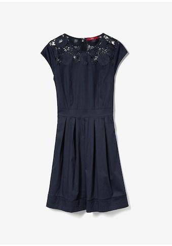 s.Oliver Baumwollsatin - Kleid kaufen
