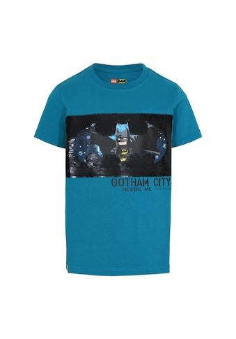 """LEGO® Wear Kurzarmshirt »M-22636«, """"Motiv mit LEGO Batman""""und""""Gotham City"""""""" kaufen"""