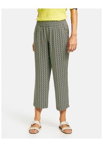 GERRY WEBER 7/8 - Hose »Hose mit Alloverdessin« kaufen