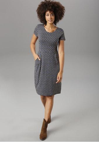 Aniston SELECTED Jerseykleid, mit bunten Punkten - NEUE KOLLEKTION kaufen
