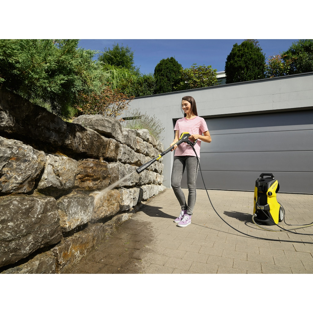 KÄRCHER Hochdruckreiniger »K 7 Premium Smart Control«, mit Boost-Mode, G 180 Q Smart Control-Pistole, 3-in-1-Multi Jet-Strahlrohr, Schlauchtrommel