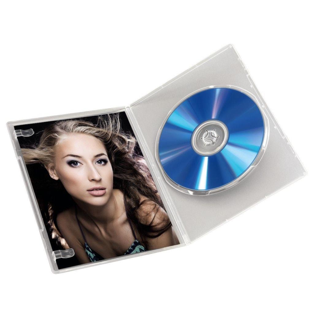 Hama DVD-Hülle, Slim, 10er-Pack, Transparent