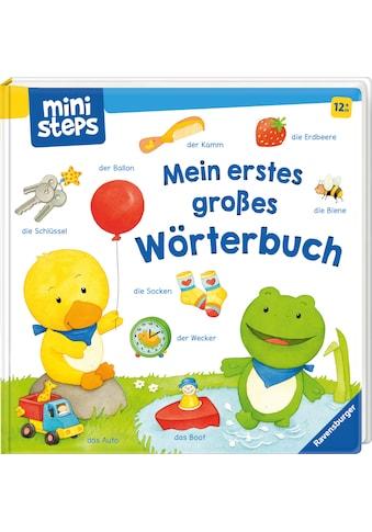 Ravensburger Bilderbuch »ministeps®, Mein erstes großes Wörterbuch«, FSC® - schützt... kaufen