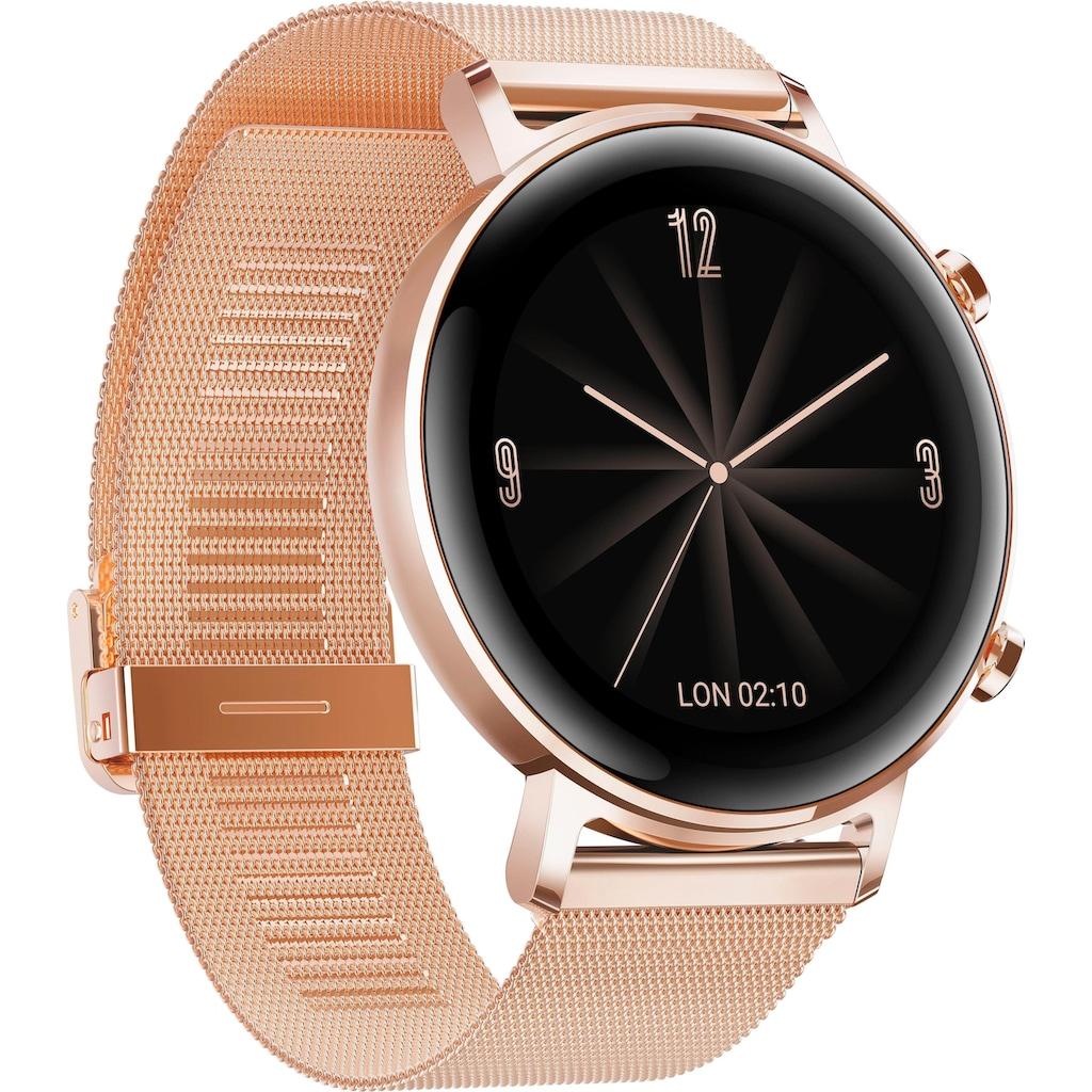 Huawei Smartwatch »Watch GT 2 Elegant«, (RTOS 24 Monate Herstellergarantie)