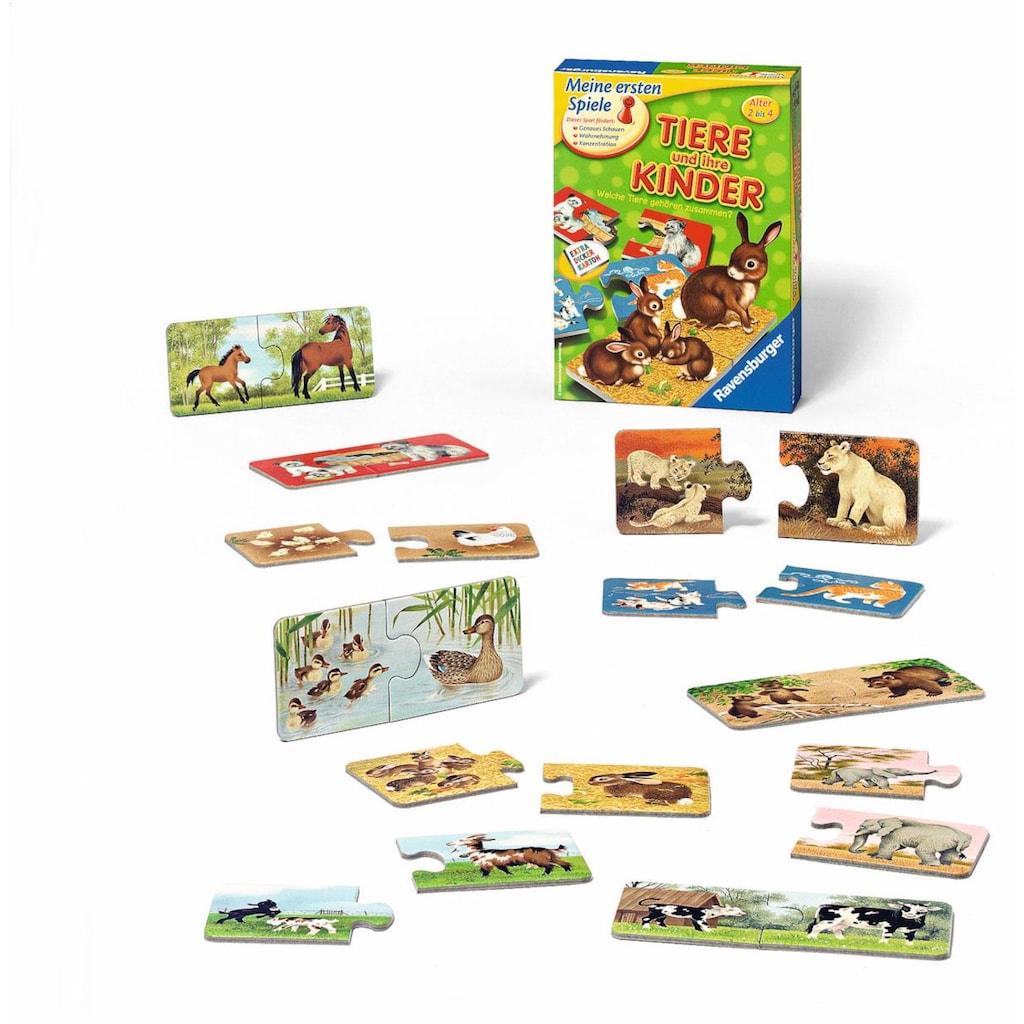 Ravensburger Spiel »Tiere und ihre Kinder«, Made in Europe, FSC® - schützt Wald - weltweit