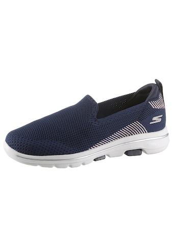 Skechers Slip-On Sneaker »Go Walk 5 - Prized«, mit gepolsterter Innensohle kaufen