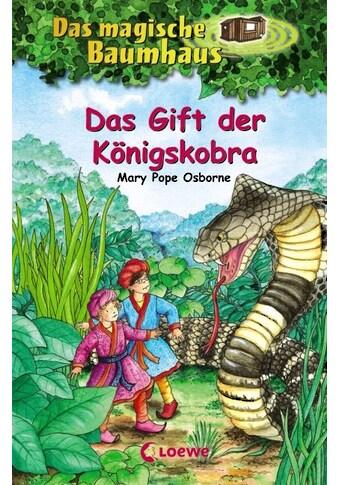 Buch »Das magische Baumhaus 43 - Das Gift der Königskobra / Mary Pope Osborne, Petra... kaufen