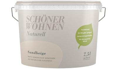 SCHÖNER WOHNEN FARBE Wand -  und Deckenfarbe »Naturell«, 7,5 l kaufen