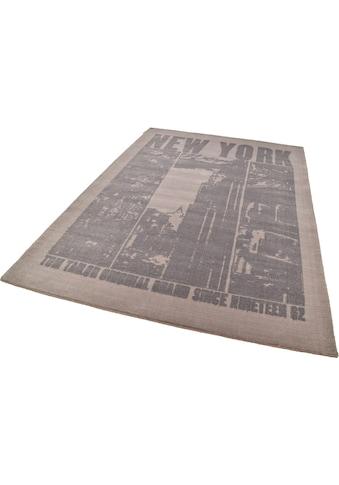 TOM TAILOR Teppich »Happy New York«, rechteckig, 12 mm Höhe, modernes Design, Wohnzimmer kaufen