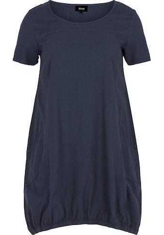 Zizzi Blusenkleid, mit seitlichen Eingrifftaschen kaufen