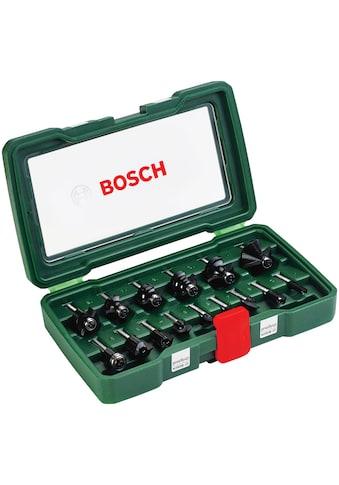 """BOSCH Abrundfräser, HM-Fräser-Set (1/4"""" mm Schaft) kaufen"""